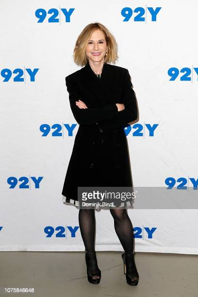 """Holly Hunter visits """"Incredibles 2"""" screening at 92nd Street Y on December 01, 2018 in New York City."""
