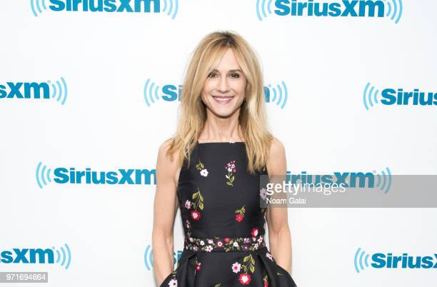 Holly Hunter visits the SiriusXM Studios on June 11 2018 in New York City