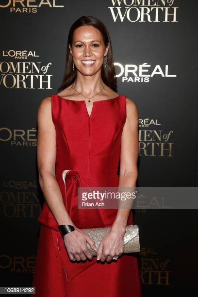 Holly Jacobs attends the L'Oréal Paris Women of Worth Celebration at The Pierre Hotel on December 5 2018 in New York City