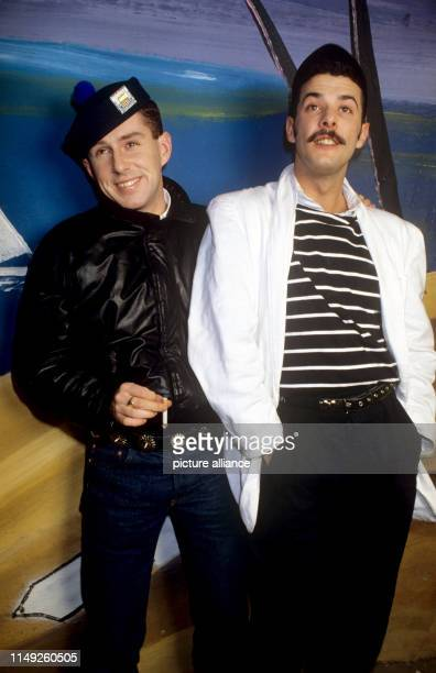 Holly Johnson and Paul Rutherford on