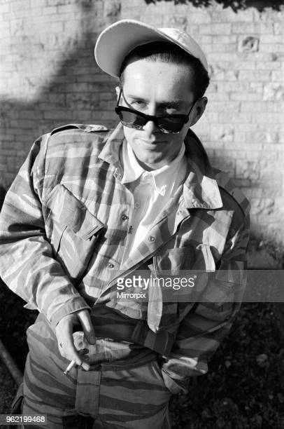 Holly Johnson lead singer with Frankie Goes To Hollywood 14th March 1985