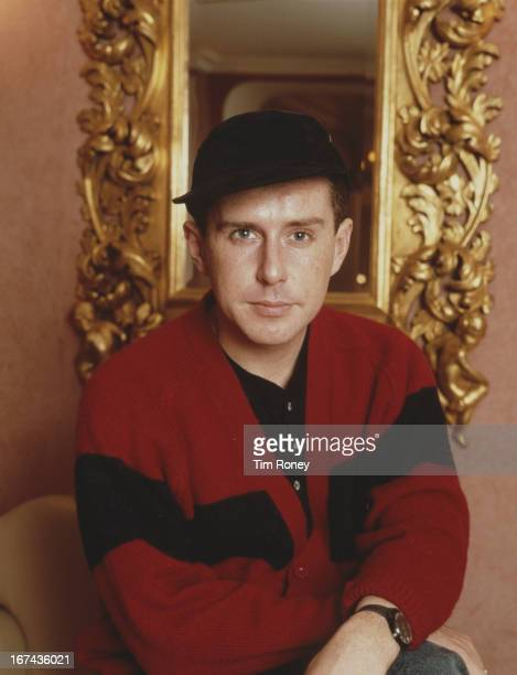 Holly Johnson of English pop group 'Frankie Goes To Hollywood' circa 1990