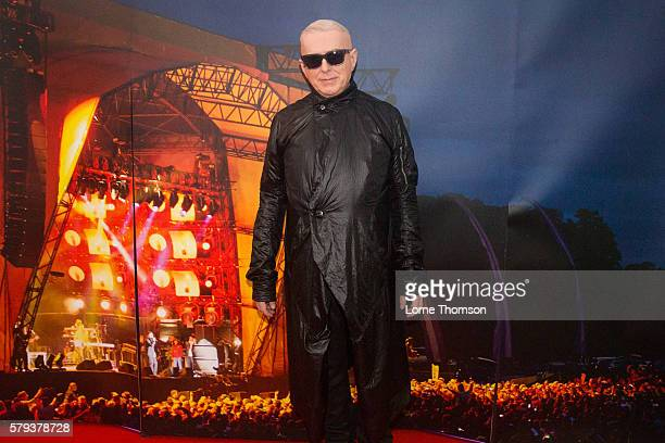 Holly Johnson poses for pictures on day two of Rewind Scotland at Scone Palace on July 23 2016 in Perth Scotland