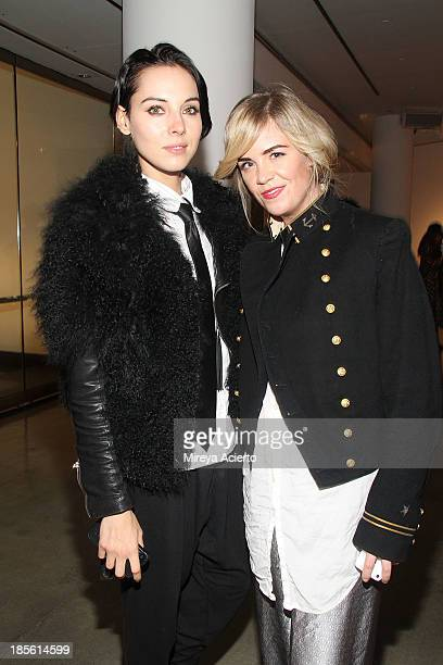 Holly Kiser and Molly Peters attend A Milk Gallery Project Presents: BG BOOM: Dusan Reljin at Milk Studios on October 22, 2013 in New York City.