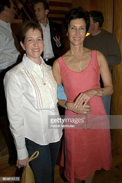 Holly Levy and Sherri Schrieber attend Jewels of the Table dinner party to preview Chopard Jewels with dinner by Culinary Institute of America Master...