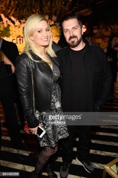 Holly Madison and Pasquale Rotella atrend Citi Presents 2017 Billboard Power 100 Celebration at Cecconi's Restaurant on February 9 2017 in Los...