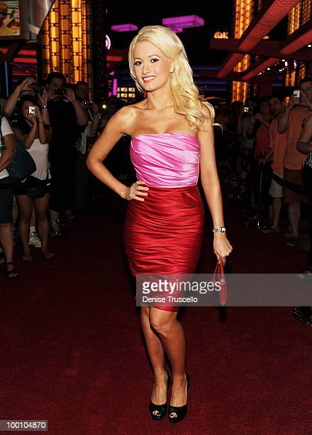 Holly Madison arrives at a screening of Universal Pictures' Get Him to the Greek at the Planet Hollywood Resort Casino May 20 2010 in Las Vegas...