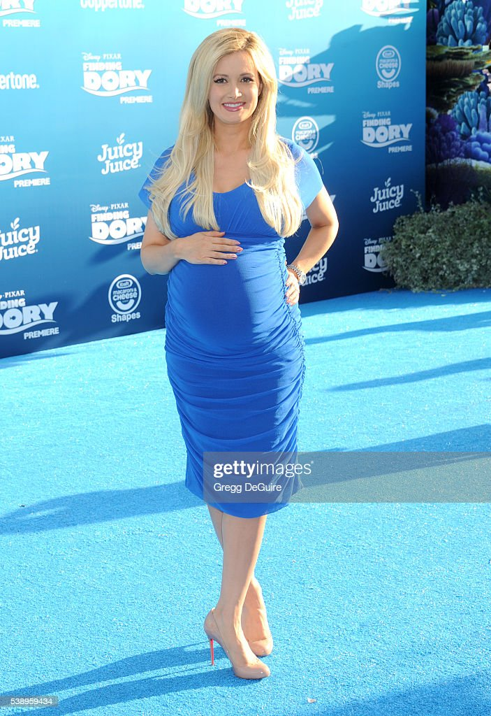 Holly Madison arrives at the World Premiere of Disney-Pixar's 'Finding Dory' at the El Capitan Theatre on June 8, 2016 in Hollywood, California.