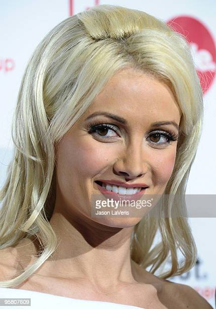 Holly Madison attends Comcast Entertainment Group's 2010 TCA party at Langham Hotel on January 15 2010 in Pasadena California