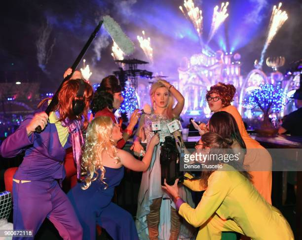Holly Madison Day Two Electric Daisy Carnival 2018 Stock Photos And