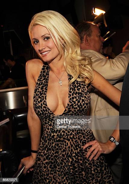 Holly Madison attends Hugh Hefner's 83rd birthday at the MOON at the Palms Resort Casino on April 4 2009 in Las Vegas Nevada