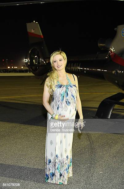 Holly Madison attends the 20th Annual Electric Daisy Carnival Day 1 at Las Vegas Motor Speedway on May 30 2016 in Las Vegas Nevada