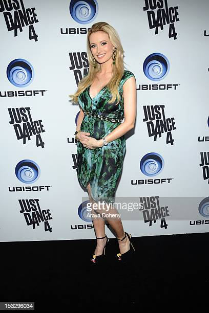 Holly Madison attends The Launch Of Just Dance 4 presented by Ubisoft at Lexington Social House on October 2 2012 in Hollywood California