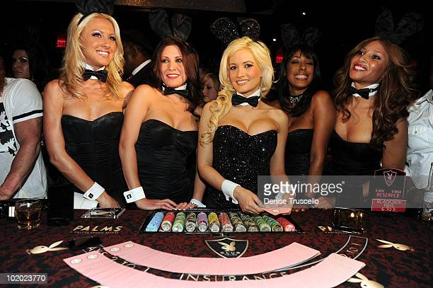 Holly Madison attends the Playboy Club at The Palms Casino Resort on June 10 2010 in Las Vegas Nevada