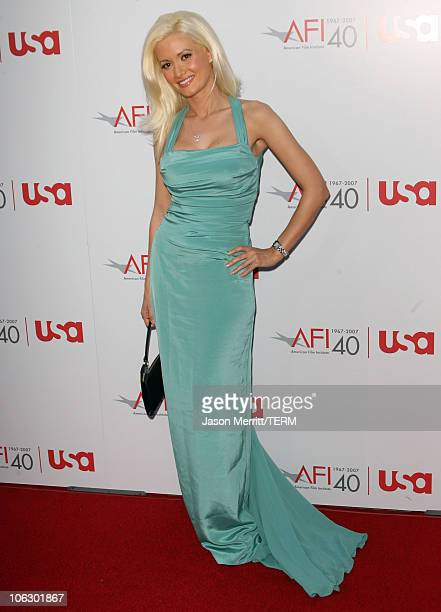 Holly Madison during 35th Annual AFI Life Achievement Award Honoring Al Pacino Arrivals at Kodak Theatre in Hollywood California United States