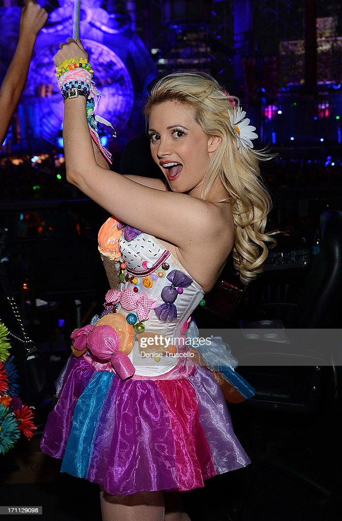 Holly Madison during the 17th annual Electric Daisy Carnival at Las Vegas Motor Speedway on June 21, 2013 in Las Vegas, Nevada.
