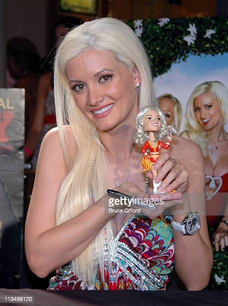 Holly Madison during The Girls Next Door Signing Autographs at the Playboy Concept Boutique at the Forum Shops March 24 2007 at Caesars Palace in Las...