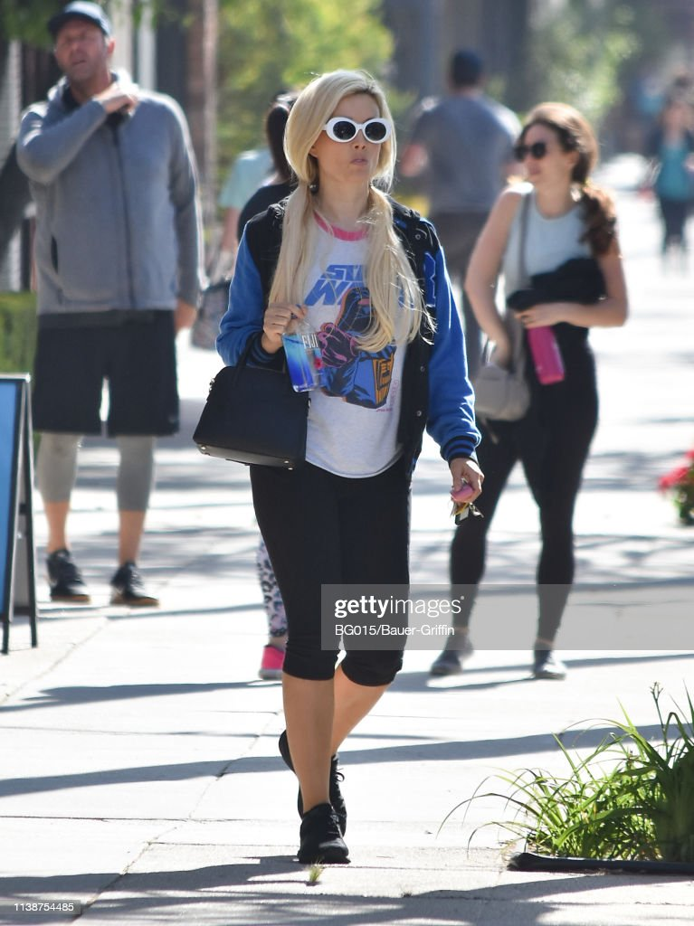 CA: Celebrity Sightings In Los Angeles - April 22, 2019