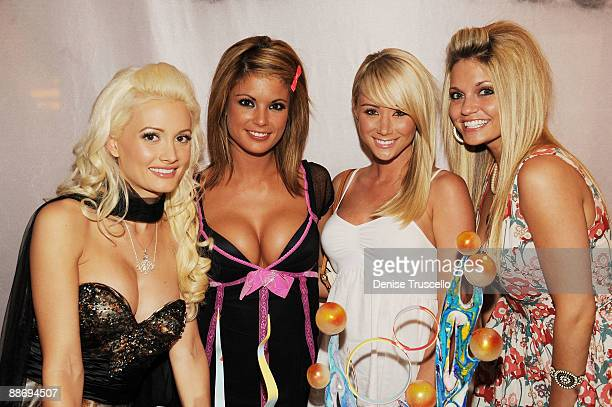 Holly Madison Laura Croft Sara Underwood and Jones attend Planet Hollywood Resort Casino on June 25 2009 in Las Vegas Nevada