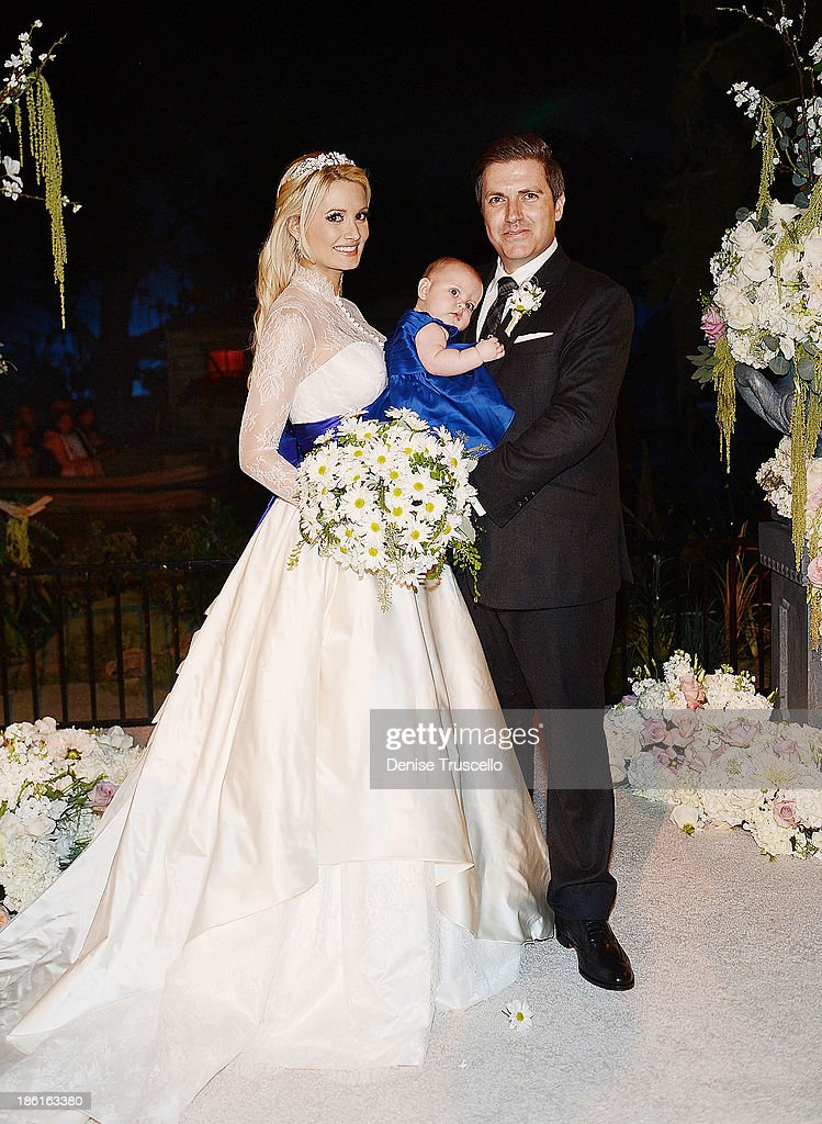Holly Madison Rainbow Rotella And Pasquale Pose For Photos After Pasquales Wedding