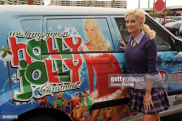 holly madison shops for toys for her holly jolly christmas toy drive