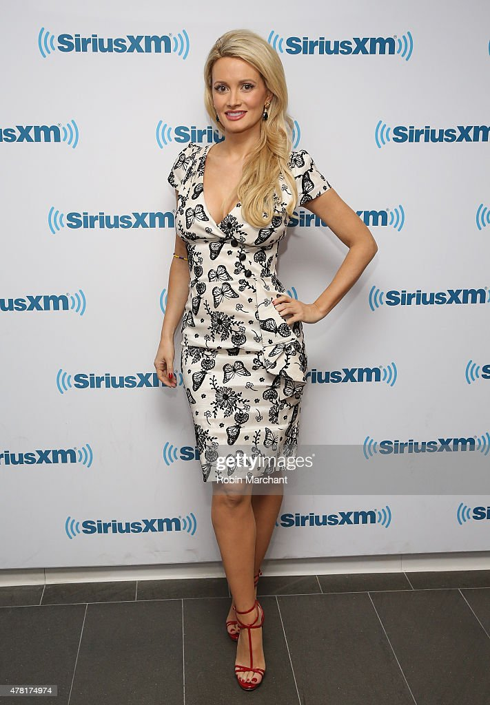 Holly Madison visits at SiriusXM Studios on June 23, 2015 in New York City.