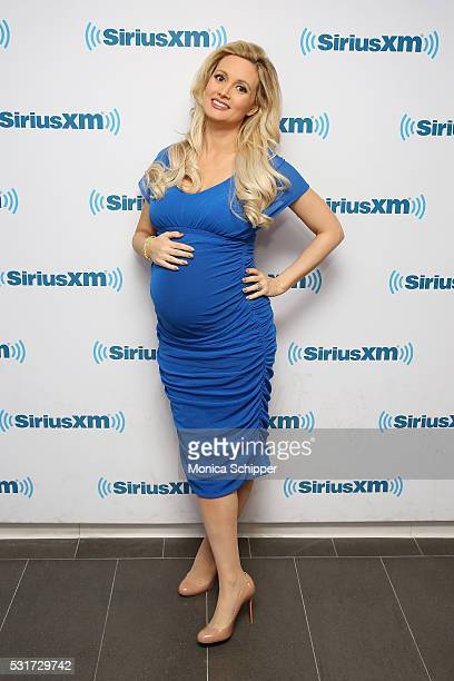 Holly Madison visits SiriusXM Studio on May 16 2016 in New York City