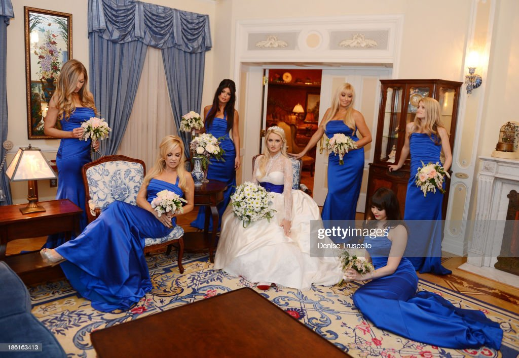 Holly Madison And Pasquale Rotella Wedding At Disneyland : News Photo