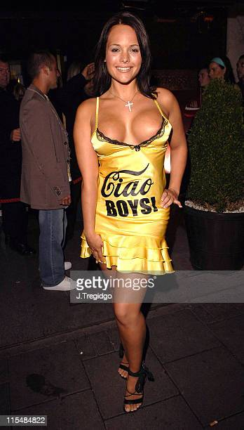 Holly Maguire during New Magazine Summer Party June 16 2005 at Embassy Club in London Great Britain