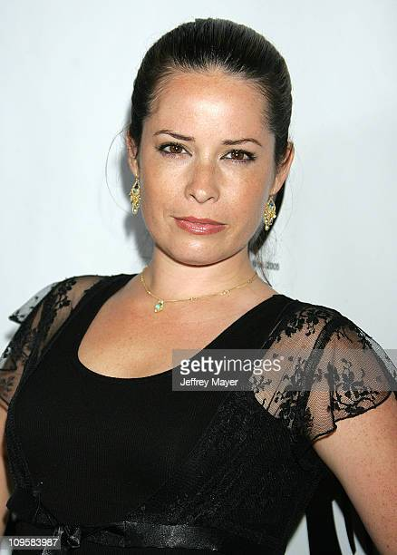 Holly Marie Combs during 2005 WB Network's All Star Celebration Arrivals at The Cabana Club in Hollywood California United States
