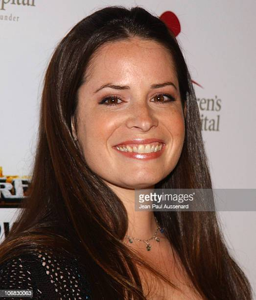 Holly Marie Combs during 3rd Annual Runway For Life Benefiting St Jude Children's Research Hospital Arrivals at Beverly Hilton in Beverly Hills...