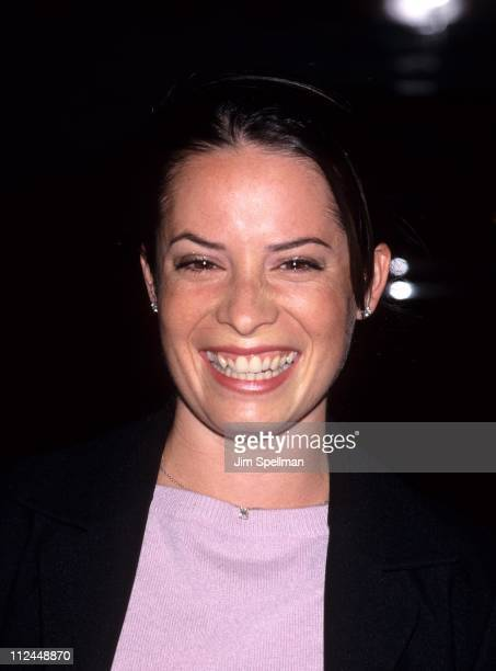 Holly Marie Combs during WB Upfront All Star Party at Milk Studios in New York City New York United States