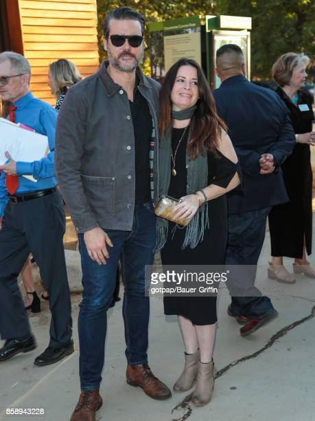 Holly Marie Combs is seen attending TreePeople's an Evening Under The Harvest Moon Charity Gala at TreePeople in Beverly Hills on October 07 2017 in...