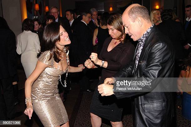 Holly Newman Rochelle Chester and Richard Ortoli attend Birthday Party for Barbara Hemmerle Gollust and Holly Newman at Opia on January 25 2005 in...