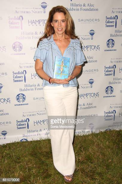 Holly Peterson attends Author's Night 2017 to benefit the East Hampton Library on August 12 2017 in East Hampton New York