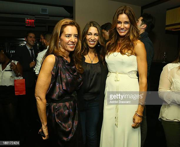 "Holly Peterson, Shamin Abas and Kelly Bensimon attend Kelly Bensimon's ""In The Spirit Of"" fragrance launch event at Cherry on October 17, 2013 in New..."