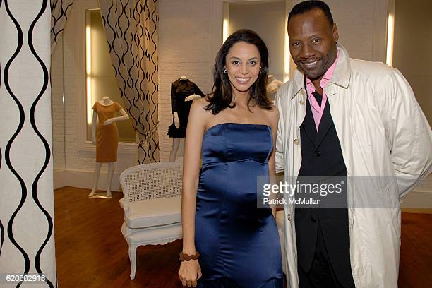 Holly Phillips and Gregory Generet attend ROSIE POPE Maternity and Divalysscious Moms Celebrate the Opening of ROSIE POPE MATERNITY FLAGSHIP STORE at...