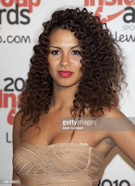 Holly QuinAnkrah Arrives At The 2010 Inside Soap Awards Held At Shaka Zulu In Camden London