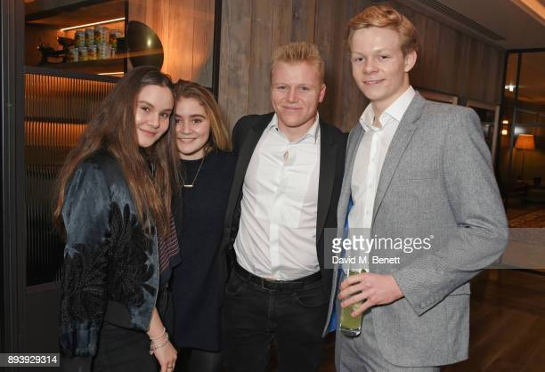 Holly Ramsay Matilda Ramsay Jack Ramsay and Alexander Dundas attend Alexander Dundas's 18th birthday party hosted by Lord and Lady Dundas on December...