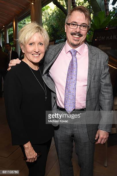 Holly Rice and executive producer Vince Gilligan attend the 17th annual AFI Awards at Four Seasons Los Angeles at Beverly Hills on January 6 2017 in...