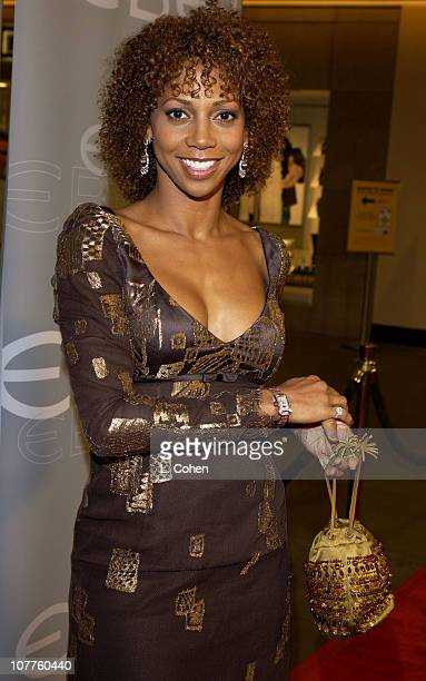 Holly Robinson Peet with an Ebel watch hosted by Dejaun Jewelers and InStyle Magazine