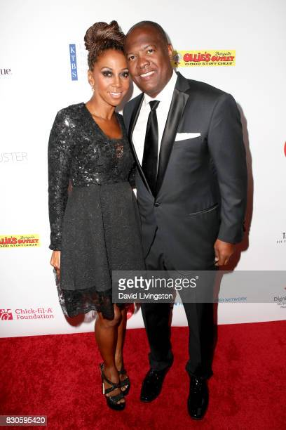 Holly Robinson Peete and Rodney Peete at the 17th Annual Harold Carole Pump Foundation Gala at The Beverly Hilton Hotel on August 11 2017 in Beverly...