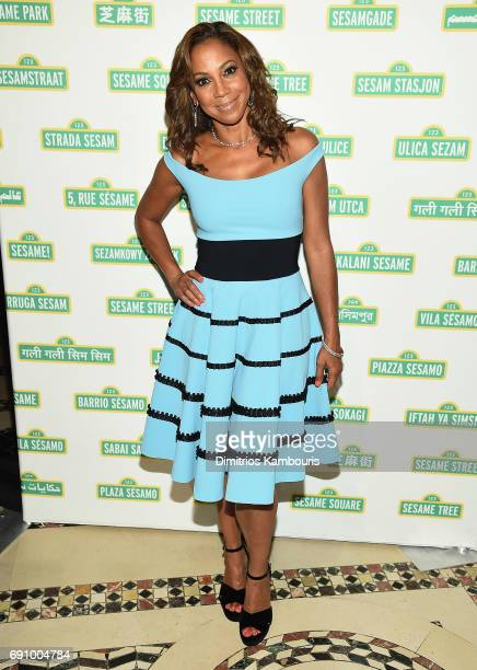 Holly Robinson Peete and The Muppets attend The 2017 Sesame Workshop Dinner at Cipriani 42nd Street on May 31, 2017 in New York City.