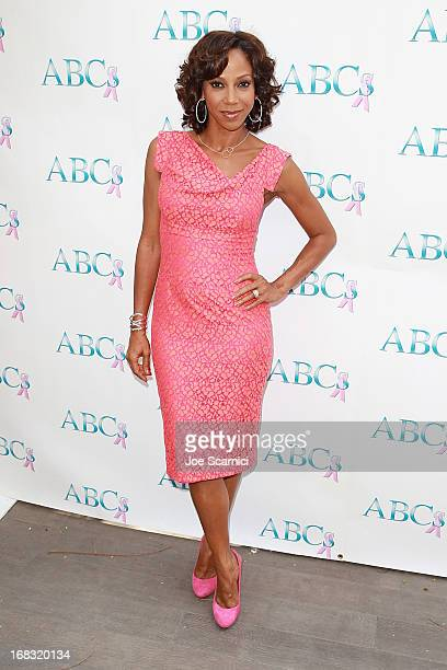 Holly Robinson Peete arrives at ABC's Mother's Day luncheon at Four Seasons hotel Los Angeles at Beverly Hills on May 8 2013 in Beverly Hills...