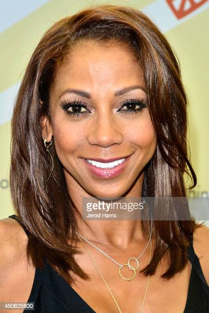 Holly Robinson Peete arrives at Children Mending Hearts' 6th Annual Fundraiser 'Empathy Rocks A Spring Into Summer Bash' on June 14 2014 in Beverly...