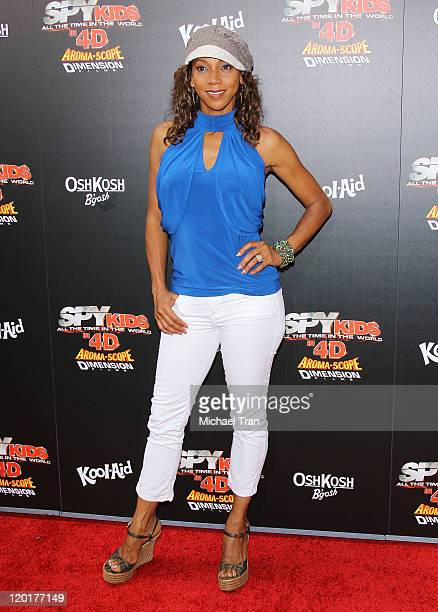 Holly Robinson Peete arrives at the Los Angeles premiere of Spy Kids All The Time In The World In 4D held at Regal Cinemas LA Live on July 31 2011 in...