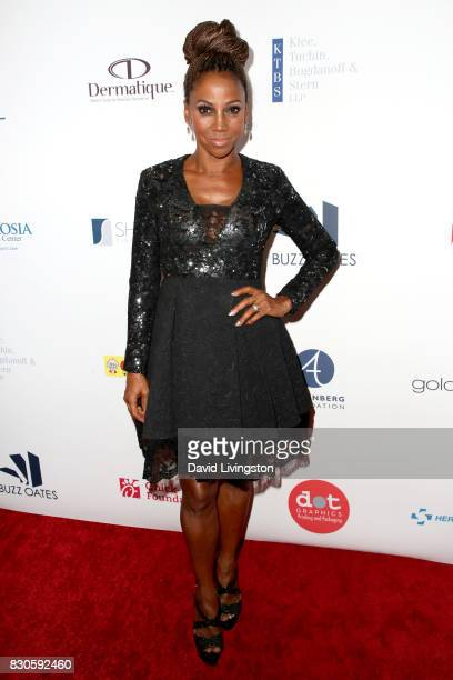 Holly Robinson Peete at the 17th Annual Harold Carole Pump Foundation Gala at The Beverly Hilton Hotel on August 11 2017 in Beverly Hills California