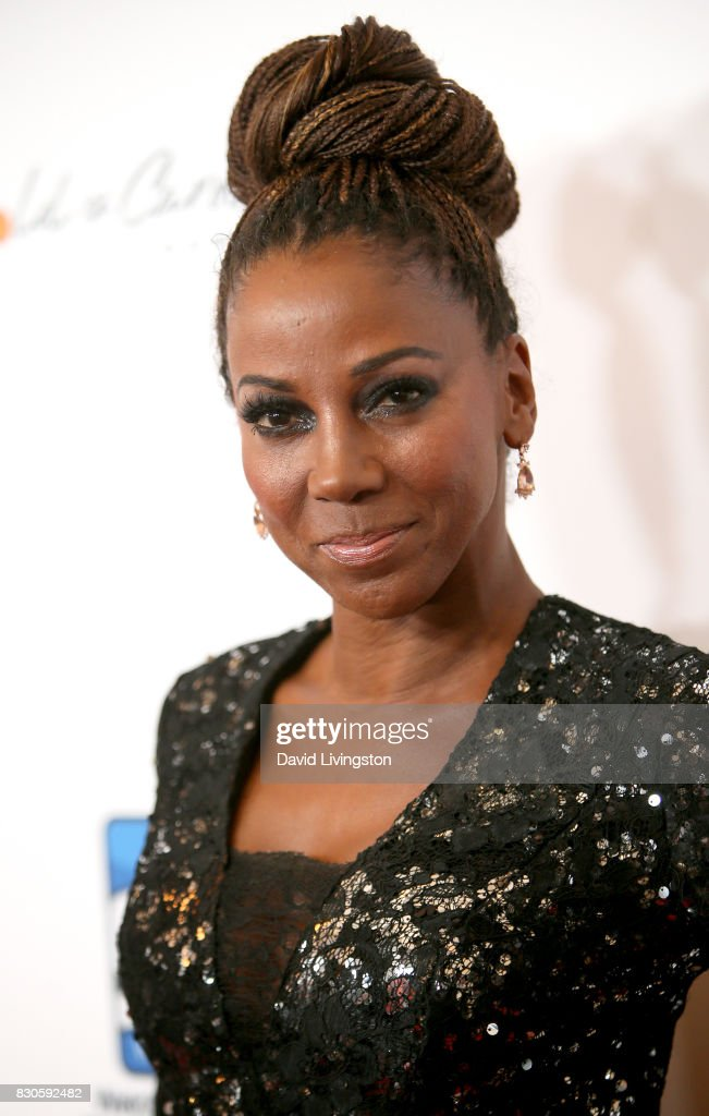Holly Robinson Peete at the 17th Annual Harold & Carole Pump Foundation Gala at The Beverly Hilton Hotel on August 11, 2017 in Beverly Hills, California.