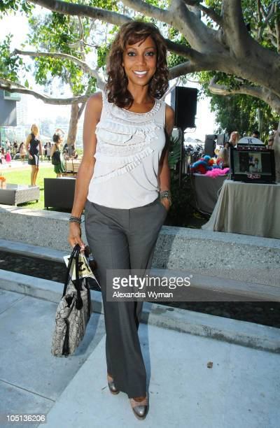 Holly Robinson Peete at the Children Raising Children event held at a private residence on October 10 2010 in Pacific Palisades California