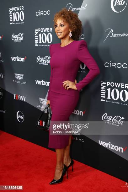 Holly Robinson Peete attends the 2021 Ebony Power 100 Presented By Verizon at The Beverly Hilton on October 23, 2021 in Beverly Hills, California.